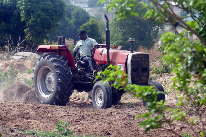 Preparing the Land For the Farming Season